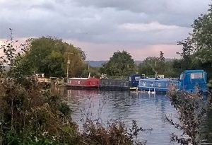 narrowboats & wide-beams on Gloucester & Sharpness canal