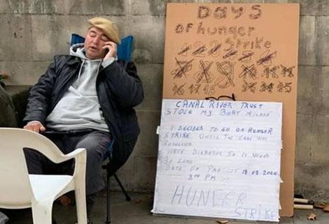 Paul Buga Hunger Strike
