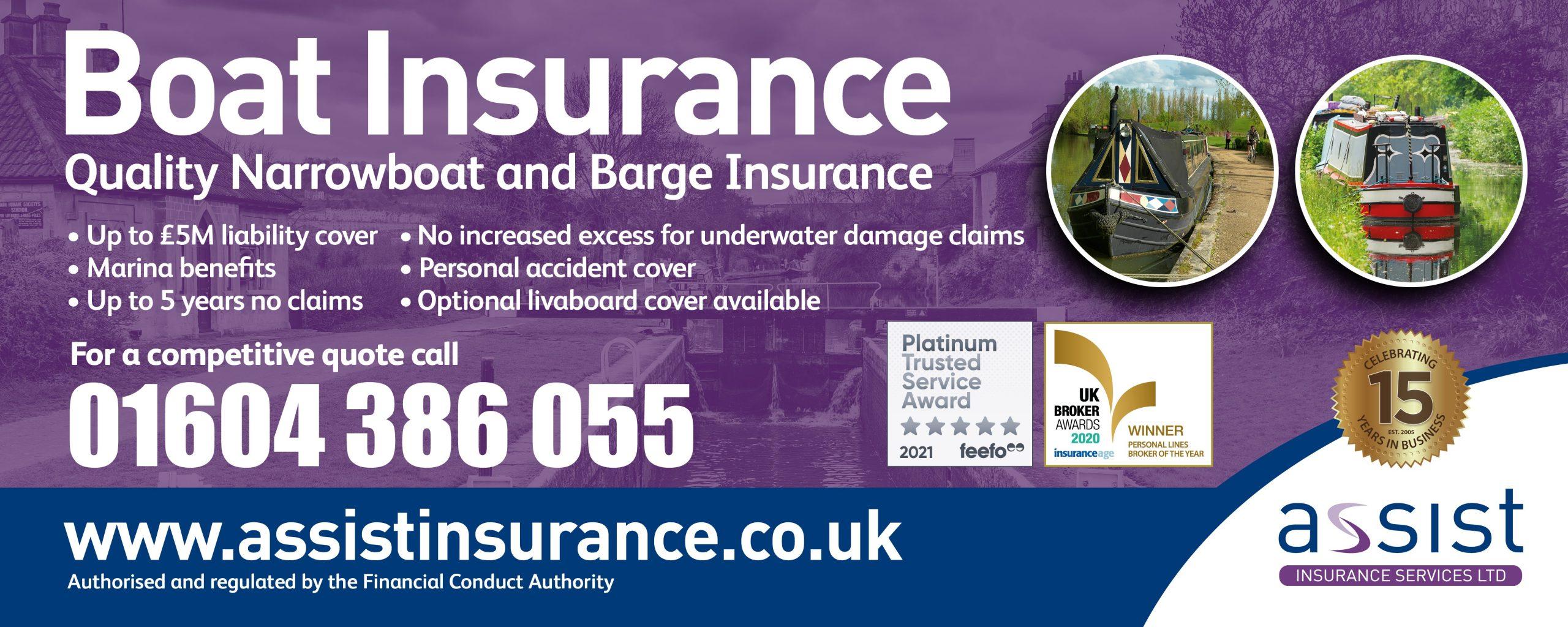Assist insurance banner 2021