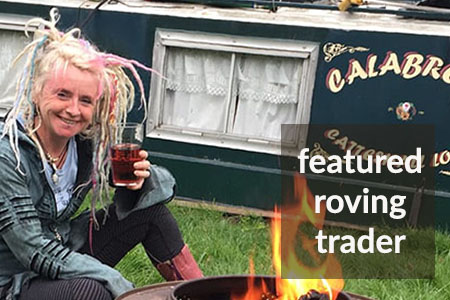 roving canal trader Fiona Lewis