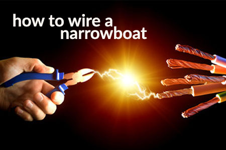how to wire a narrowboat