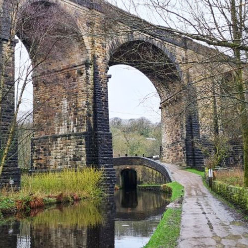 Huddersfield Narrow Canal - photo by Kathy Tomlinson