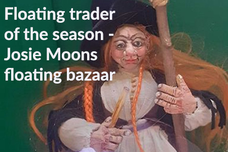 roving canal trader josie moons floating bizzar